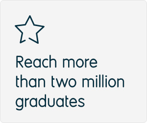 Reach over 2 million graduates with Prospects